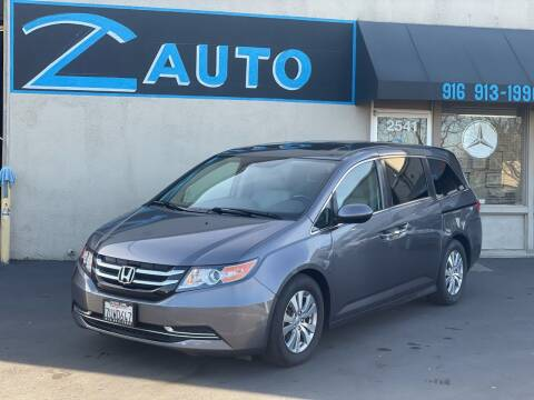 2016 Honda Odyssey for sale at Z Auto in Sacramento CA