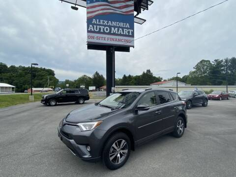 2018 Toyota RAV4 for sale at Alexandria Auto Mart LLC in Alexandria PA