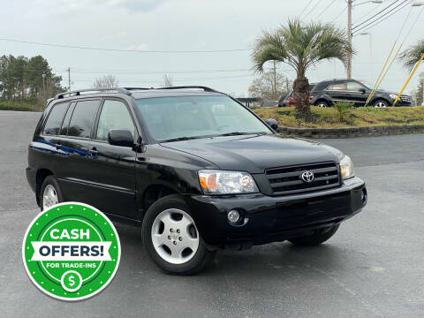 2004 Toyota Highlander for sale at Rock 'n Roll Auto Sales in West Columbia SC