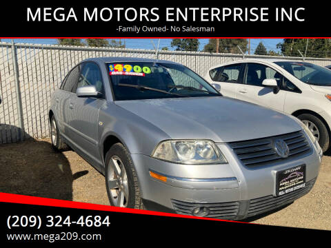 2004 Volkswagen Passat for sale at MEGA MOTORS ENTERPRISE INC in Modesto CA