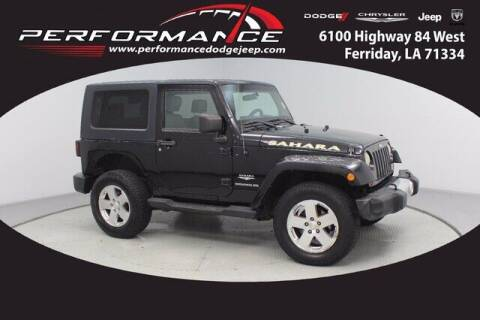 2009 Jeep Wrangler for sale at Performance Dodge Chrysler Jeep in Ferriday LA