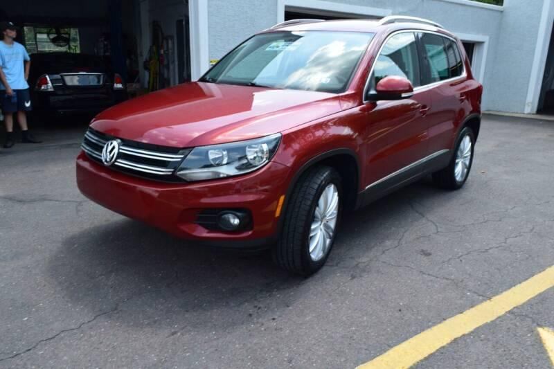 2012 Volkswagen Tiguan for sale at L&J AUTO SALES in Birdsboro PA