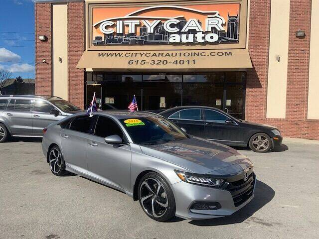 2018 Honda Accord for sale at CITY CAR AUTO INC in Nashville TN