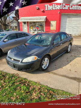 "2013 Chevrolet Impala for sale at MIDWESTERN AUTO SALES        ""The Used Car Center"" in Middletown OH"