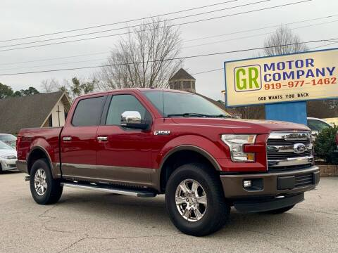 2016 Ford F-150 for sale at GR Motor Company in Garner NC
