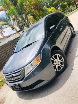 2012 Honda Odyssey for sale at IRON CARS in Hollywood FL