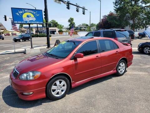 2008 Toyota Corolla for sale at J Sky Motors in Nampa ID