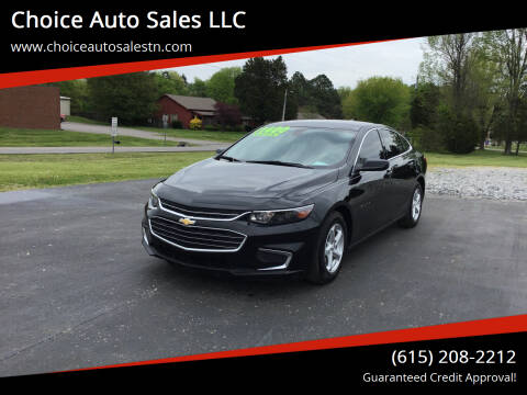 2017 Chevrolet Malibu for sale at Choice Auto Sales LLC - Cash Inventory in White House TN