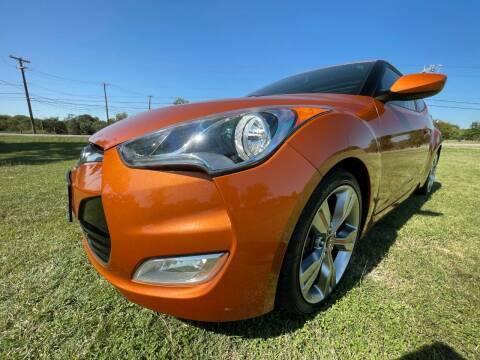 2013 Hyundai Veloster for sale at Carz Of Texas Auto Sales in San Antonio TX