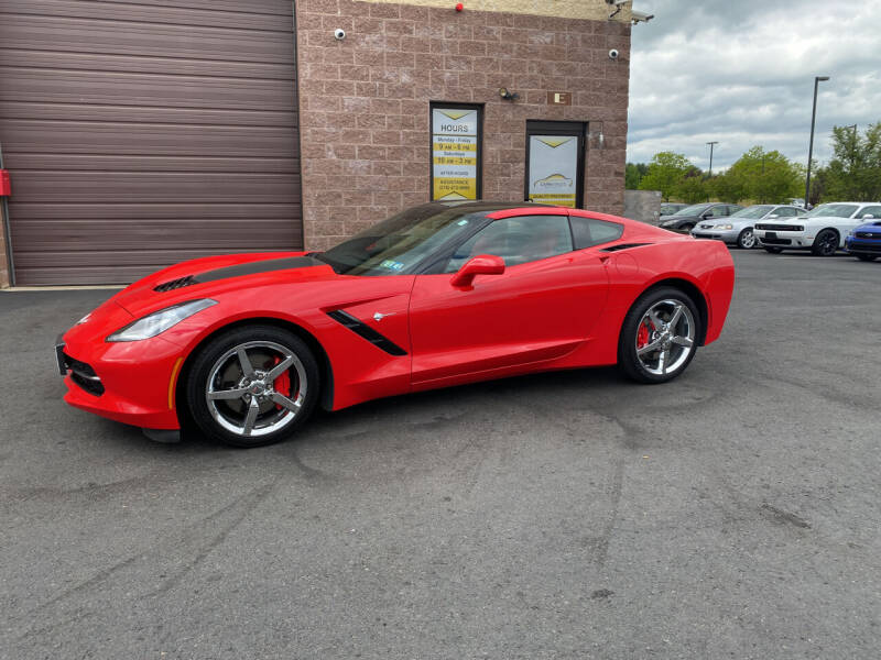 2014 Chevrolet Corvette for sale at CarNu  Sales in Warminster PA