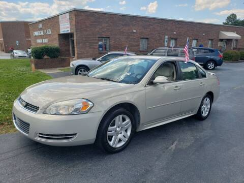 2012 Chevrolet Impala for sale at ARA Auto Sales in Winston-Salem NC