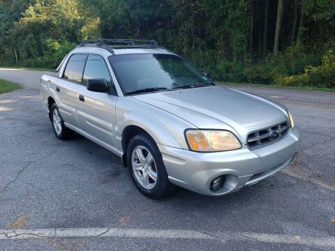 2005 Subaru Baja for sale at GEORGIA AUTO DEALER, LLC in Buford GA