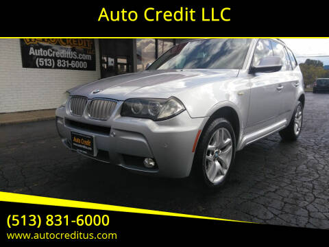 2010 BMW X3 for sale at Auto Credit LLC in Milford OH
