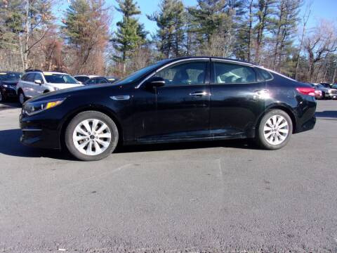 2016 Kia Optima for sale at Mark's Discount Truck & Auto Sales in Londonderry NH