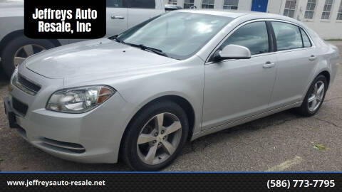 2011 Chevrolet Malibu for sale at Jeffreys Auto Resale, Inc in Clinton Township MI