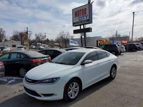 2016 Chrysler 200 for sale at Motor City Sales in Wichita KS