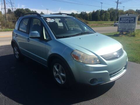 2009 Suzuki SX4 Crossover for sale at SIMPSON MOTORS in Youngstown OH