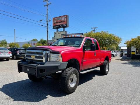 2000 Ford F-250 Super Duty for sale at Autohaus of Greensboro in Greensboro NC