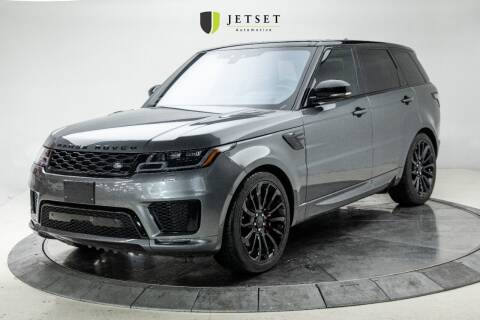 2019 Land Rover Range Rover Sport for sale at Jetset Automotive in Cedar Rapids IA