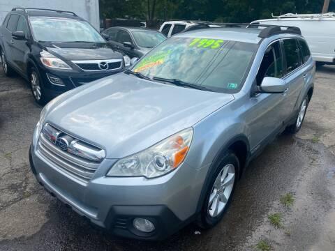 2013 Subaru Outback for sale at Washington Auto Repair in Washington NJ