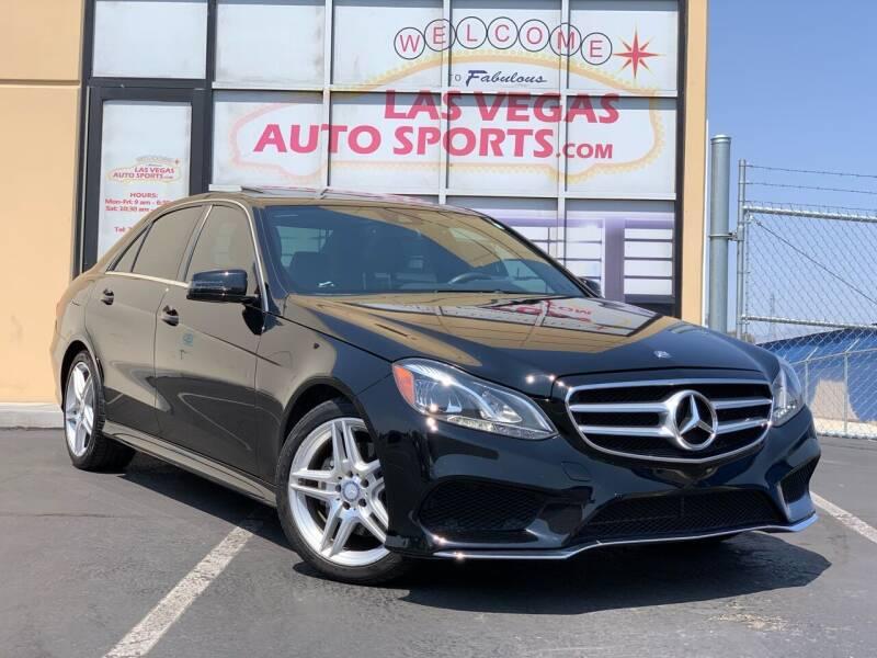 2014 Mercedes-Benz E-Class for sale at Las Vegas Auto Sports in Las Vegas NV