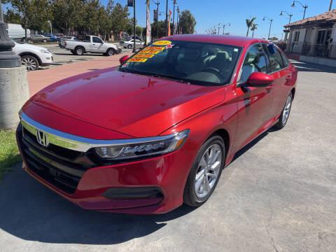 2018 Honda Accord for sale at Soledad Auto Sales in Soledad CA