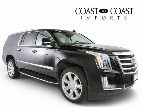 2018 Cadillac Escalade ESV for sale at Coast to Coast Imports in Fishers IN
