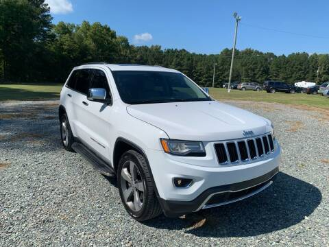 2014 Jeep Grand Cherokee for sale at Sanford Autopark in Sanford NC