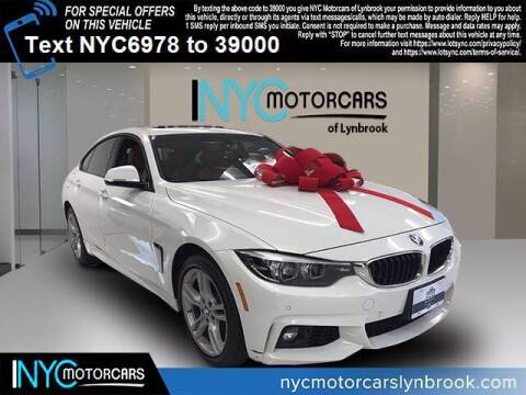 2018 BMW 4 Series for sale at NYC Motorcars in Freeport NY