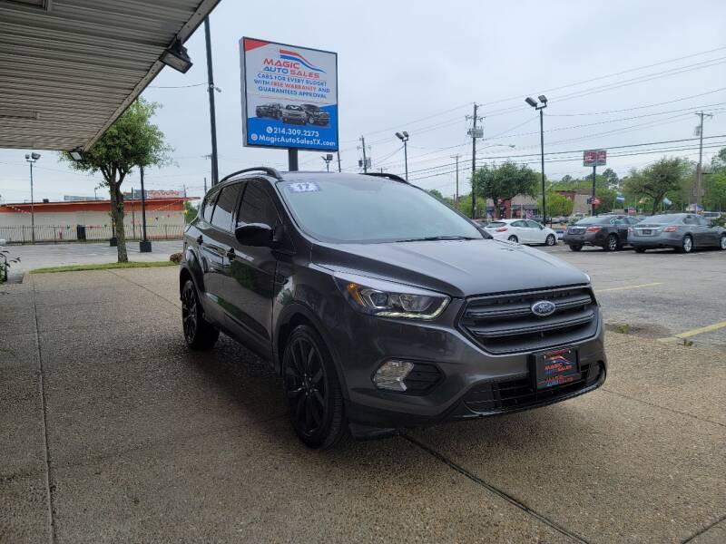 2017 Ford Escape for sale at Magic Auto Sales in Dallas TX