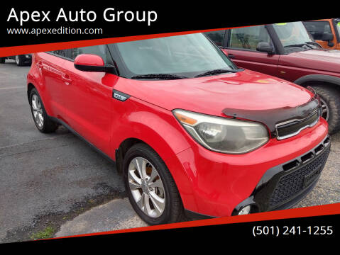 2016 Kia Soul for sale at Apex Auto Group in Cabot AR
