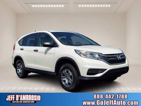 2016 Honda CR-V for sale at Jeff D'Ambrosio Auto Group in Downingtown PA