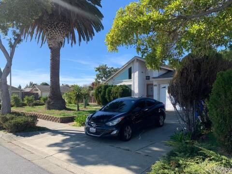 2013 Hyundai Elantra for sale at Blue Eagle Motors in Fremont CA