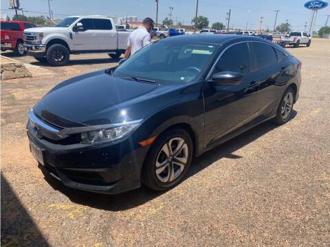 2017 Honda Civic for sale at STANLEY FORD ANDREWS in Andrews TX