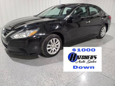 2016 Nissan Altima for sale at Hatcher's Auto Sales, LLC - Buy Here Pay Here in Campbellsville KY
