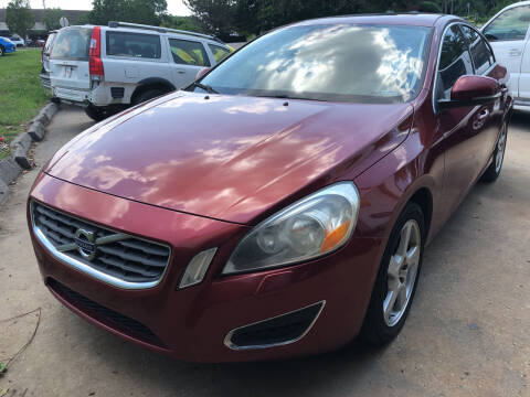 2012 Volvo S60 for sale at UNIVERSITY FOREIGN CAR LLC in Bridgeton MO