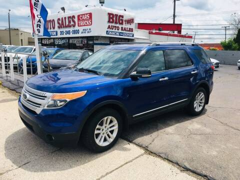 2013 Ford Explorer for sale at Big Three Auto Sales Inc. in Detroit MI