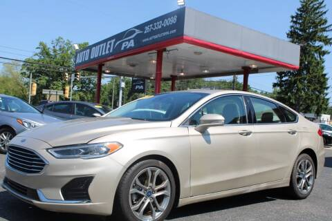 2019 Ford Fusion for sale at Deals N Wheels 306 in Burlington NJ