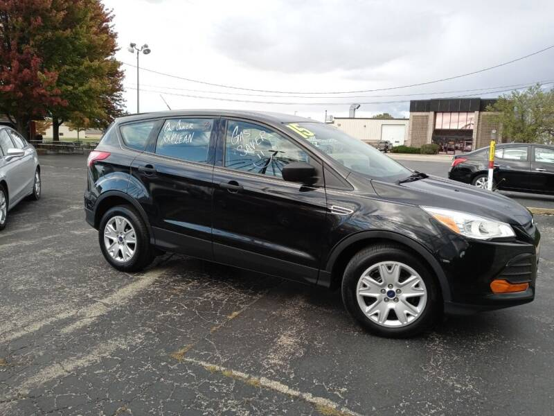2015 Ford Escape for sale at Arak Auto Group in Bourbonnais IL