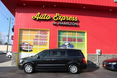 2012 Chrysler Town and Country for sale at AUTO EXPRESS OF HAMILTON LLC in Hamilton OH