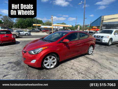 2012 Hyundai Elantra for sale at Hot Deals On Wheels in Tampa FL