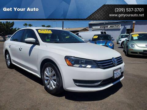 2014 Volkswagen Passat for sale at Get Your Auto in Ceres CA