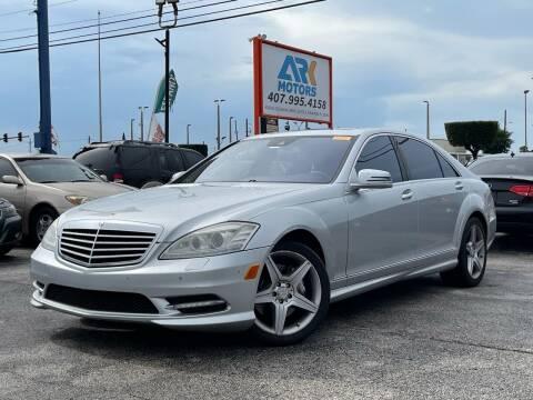2010 Mercedes-Benz S-Class for sale at Ark Motors LLC in Orlando FL