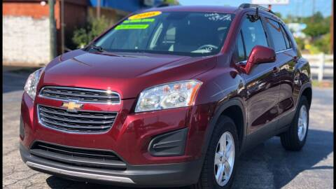 2016 Chevrolet Trax for sale at Apex Knox Auto in Knoxville TN