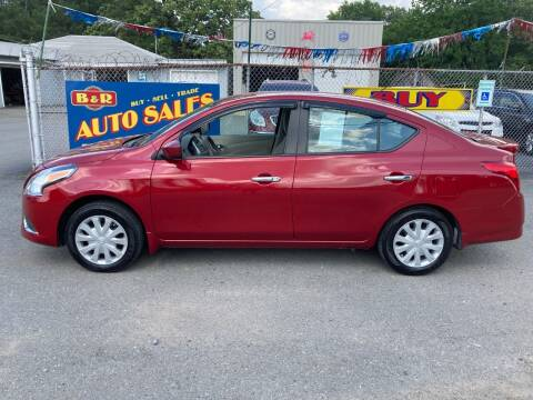 2015 Nissan Versa for sale at B & R Auto Sales in N Little Rock AR