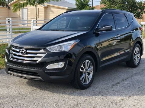2014 Hyundai Santa Fe Sport for sale at CARSTRADA in Hollywood FL