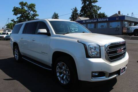 2015 GMC Yukon XL for sale at All American Motors in Tacoma WA
