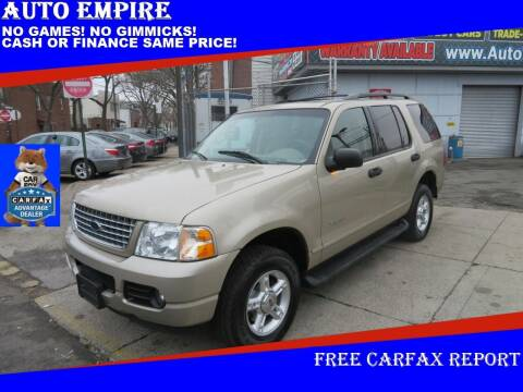 2004 Ford Explorer for sale at Auto Empire in Brooklyn NY