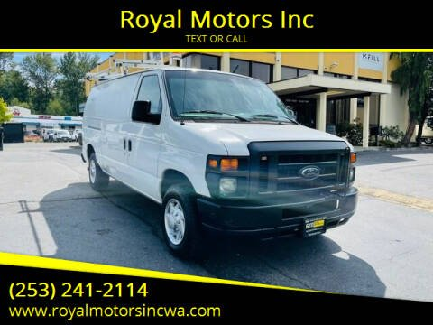2010 Ford E-Series Cargo for sale at Royal Motors Inc in Kent WA