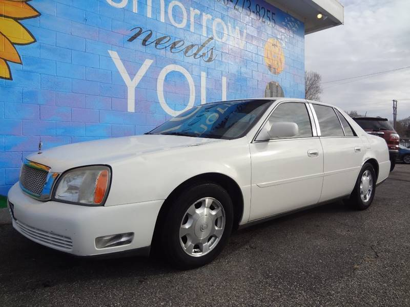 2005 Cadillac DeVille for sale at FINISH LINE AUTO SALES in Idaho Falls ID